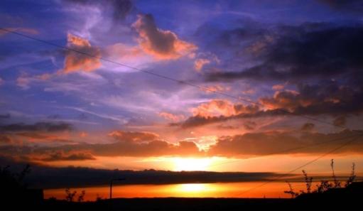 Красивые фотографии закатов