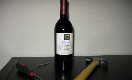 Есть бутылка.. но нет штопора - разве проблема?