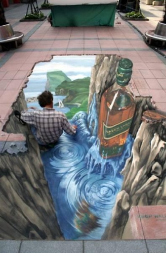 3D арт на улицах! Супер подборка фото.