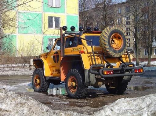 "Тюнинг ""своих"" машин"