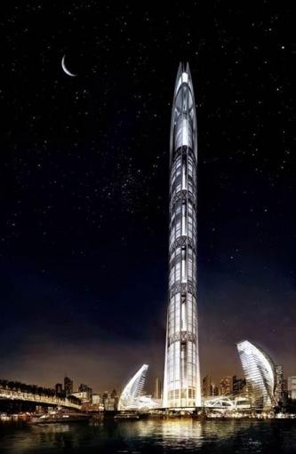 Nakheel Tower - жить в километре от земли