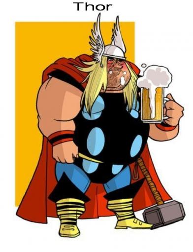 Супергерои в старосте xD