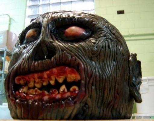 Страшные торты на хэллоуин