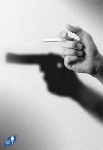 Стоет ли курить? - Рекламные постеры что застявят об этом задуматся