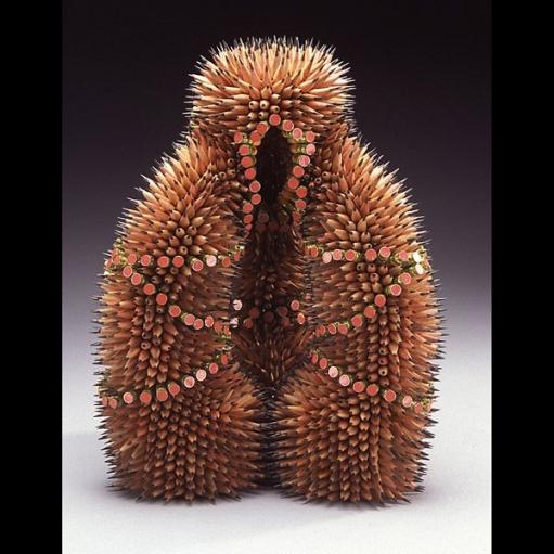 Креативные скульптуры из карандашей