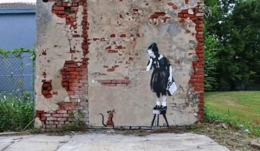 Интересные креативные и местами прикольные Граффити