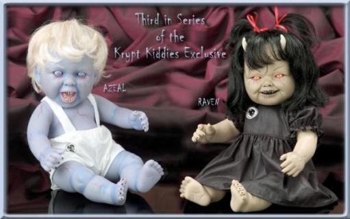 Не совсем детские куклы