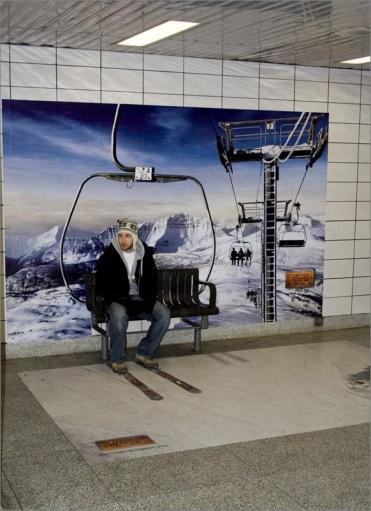 СУПЕР креативная реклама на Зимнюю тему