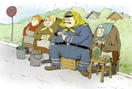 Прикольные рисунки Ольги Громовой