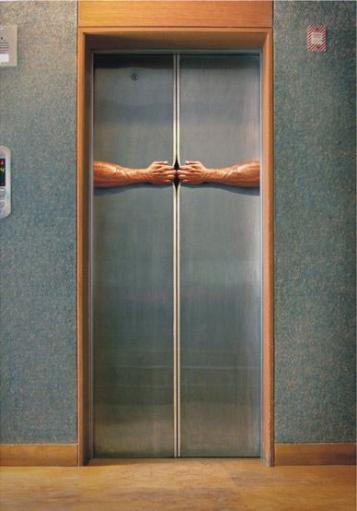 Инновационная система открывания дверей в лифте