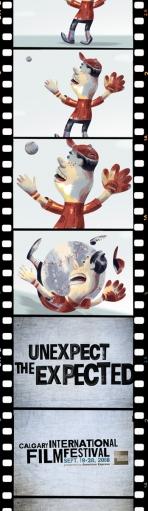 Необычная реклама международного кинофестиваля в Калгари