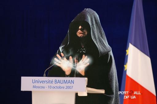 Николя Саркози. Прикольные фотожабы на Николя Саркози.