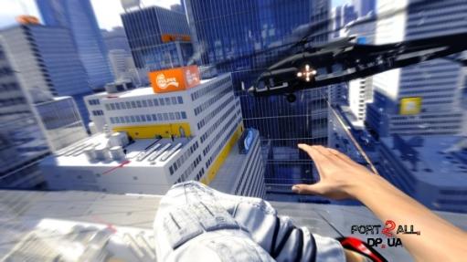 Первая паркур-игра Mirror`s Edge от Digital Illusions