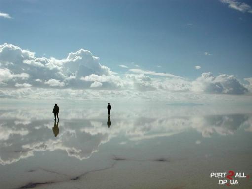Огромнейшее зеркало в мире
