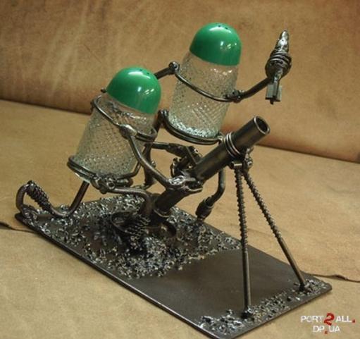 Поделка для малыИзделия из металла Новогод.подарТеплообменник воздух