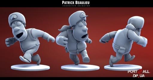 Герои мультфильмов от Patrick Beaulieu (20 штук)