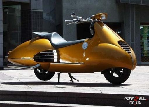 Необычные японские скутеры. Японские мопеды.