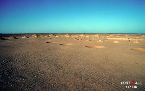 Необъяснимые конусы в египте