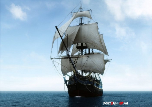 Шхуны, фрегаты, каравеллы, галеоны - фото и рисунки парусников