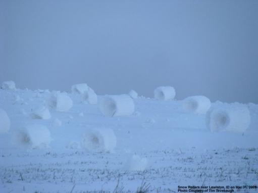 Снежные комы в США