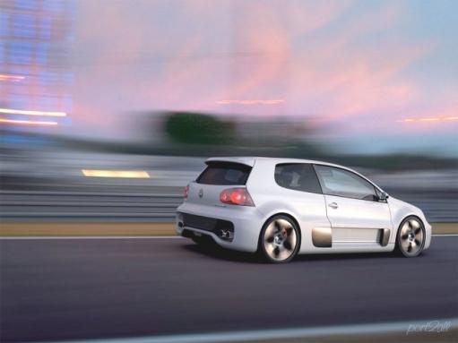 Конфетка VW Golf GTI W12