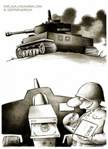 Подборище прикольных карикатур