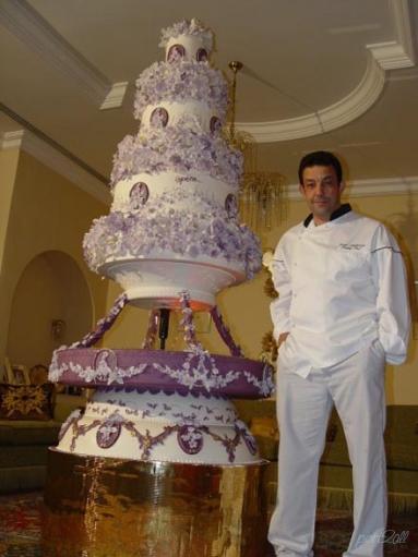Огромные свадебные торты. Свадебный торт.