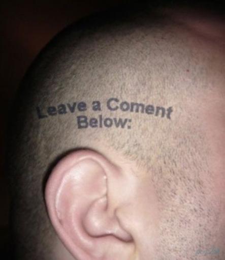 Татуировки в стиле WEB