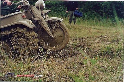 Гусеничный мотоцикл. Мото-танк.