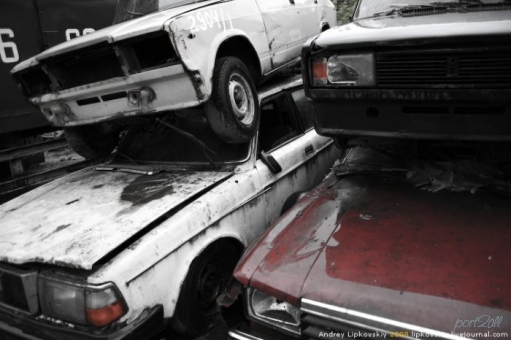 Кладбище машин в москве