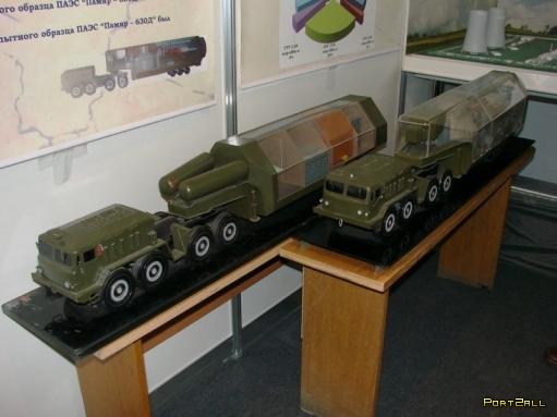 Достижение СССР - первая передвижная атомная станция.