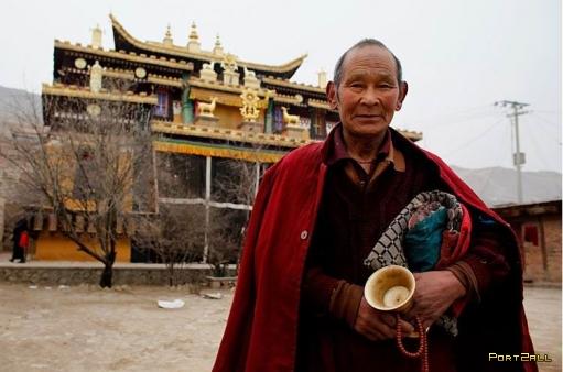 Монах, который молился 20 лет на одном месте
