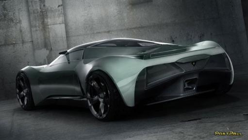 Концепт нового суперкара - Lamborghini Insecta