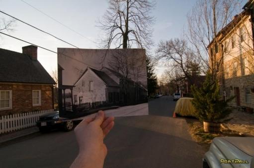 Фотграфии из прошлого в настоящем