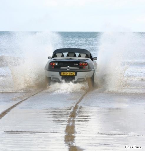 Земно-водные автомобили - амфибии (17 фото)
