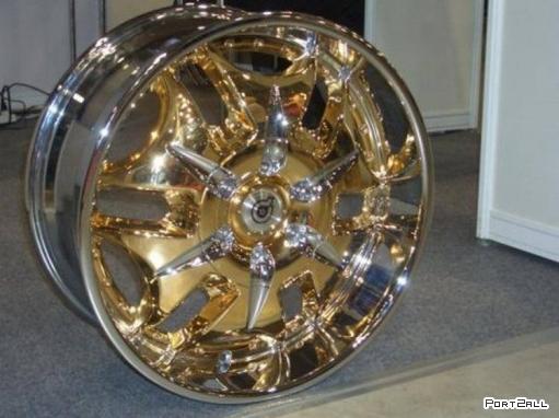 Классные колесные диски для классных авто
