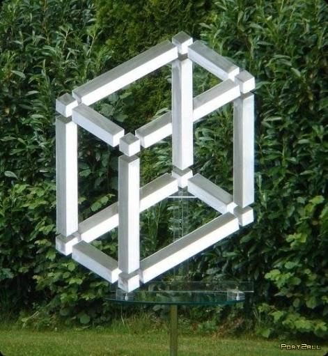 Реализации оптических иллюзий в реальном мире