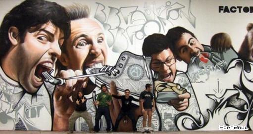 Шикарнейшие граффити