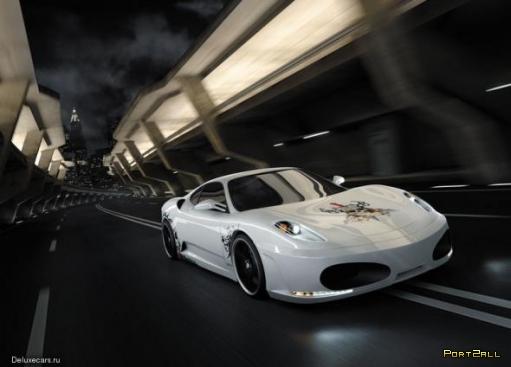 Calavera (Череп) — Ferrari F430 от Unique Sportcars и Novitec Rosso