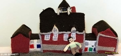 "Креативные бабушки или ""Вяжим домики"""