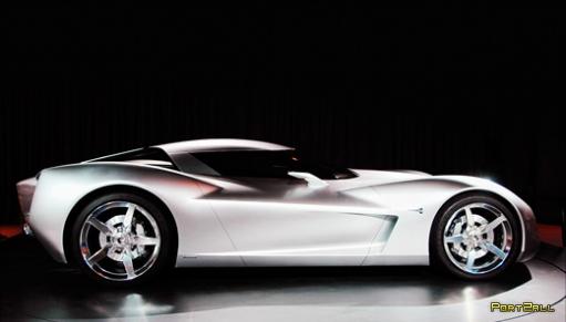 Corvette Centennial Concept или образ автобота SIDEWAIPE
