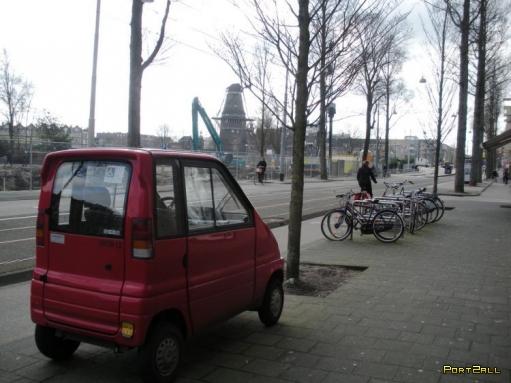 Очень маленькая машина! Машины супер-мини!