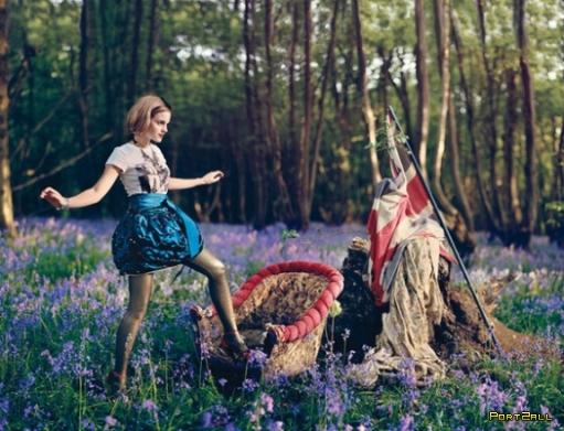 Эмма Уотсон (Emma Watson) in Teen Vogue (фотосессия)