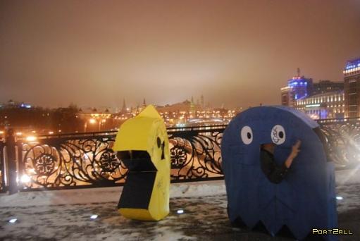 Пакман покорил Москву!