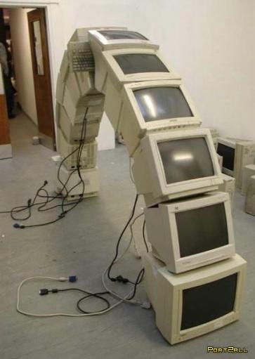 Кретив с компьютерами (20 фото)