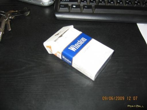 """Если нечего делать или """"Поделка из пачки сигарет"""""""