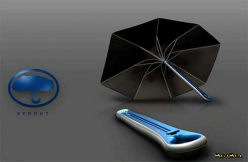 Необычные креативные зонтики