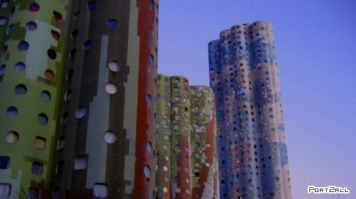 Оригинальные, странноватые здания