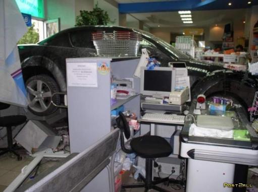 Меткая девушка на Mazda или спешащая в аптеку!