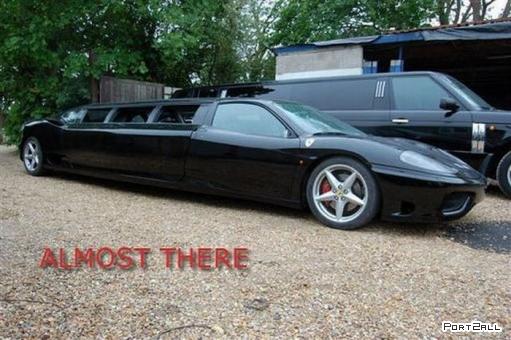 Лимузин из Ferrari